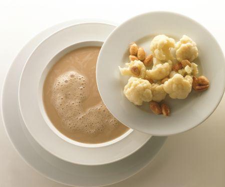 Sardine Soup with Almond Cauliflower