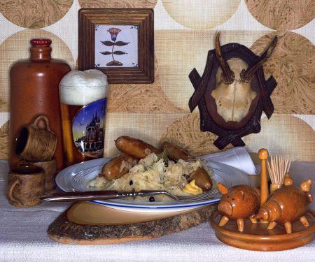 Sauerkraut with Sausages