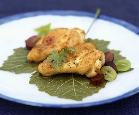 Sautéed Chicken Breasts with Grapes