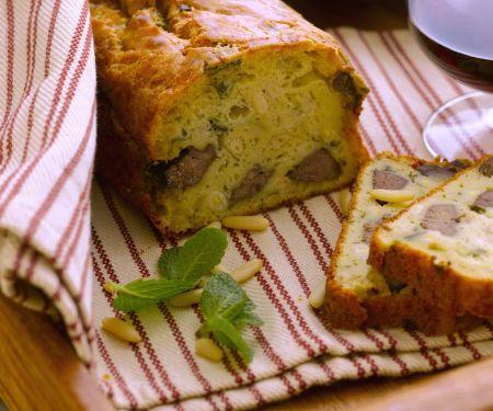 Savoury Liver and Pignoli Loaf