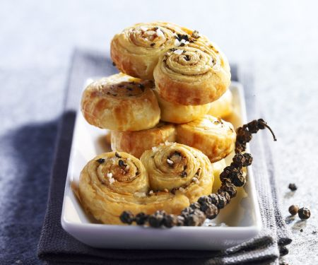 Savoury Peppercorn Pastries