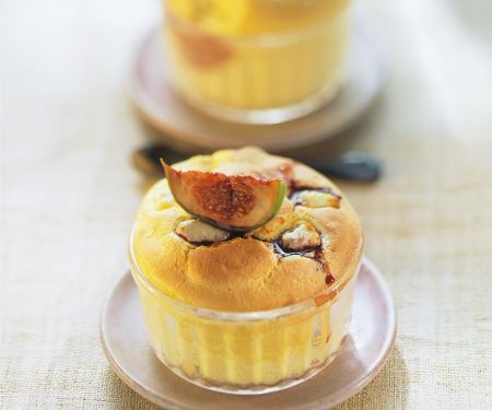 Savoury Risen Puddings with Fruit