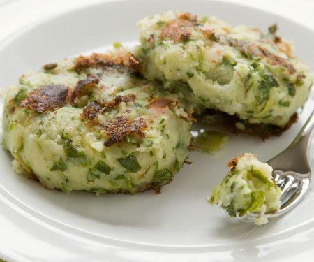 Savoy Cabbage and Potato Patties