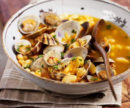 Seafood and Bean Stew