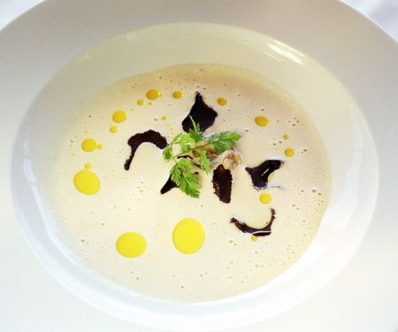 Seafood Bisque with Black Truffle