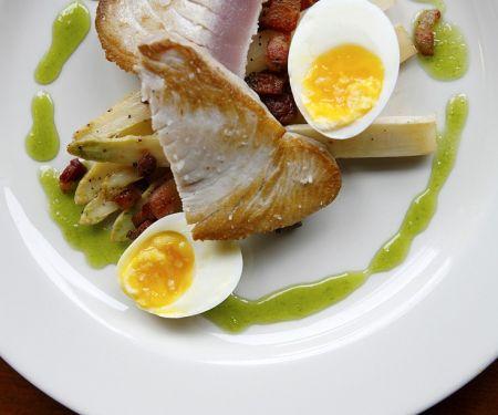 Seared Tuna with Egg