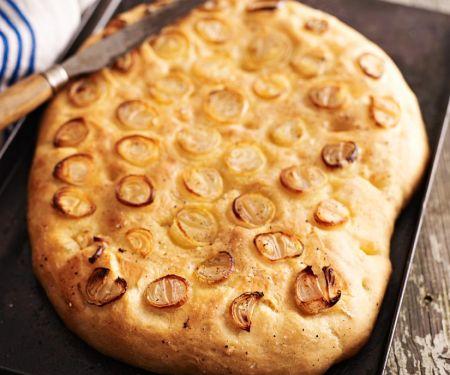 Shallot Topped Italian Bread
