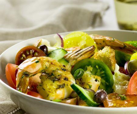 Shrimp, Tomato, and Bread Salad