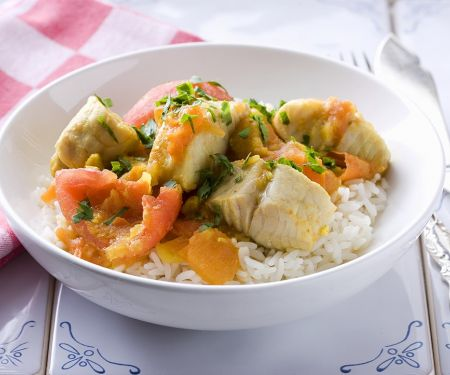 Simple Fish and Tomato Curry