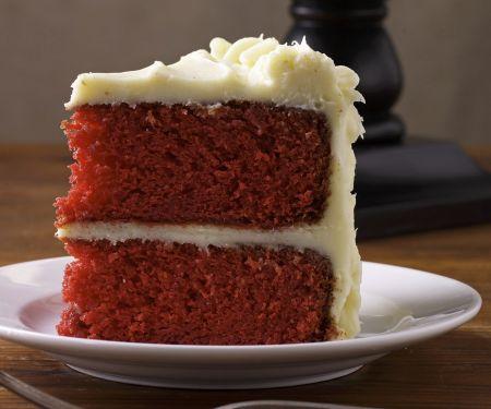 Slice of Coloured Cake