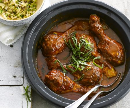 Slow Cooker Chicken Leg Curry