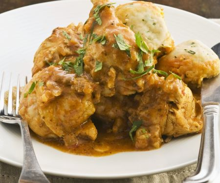 Spiced Chicken with Gravy