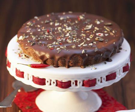 Spiced Chocolate Torte