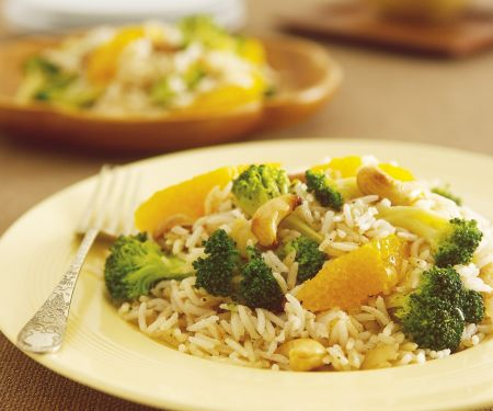 Spiced Rice with Broccoli