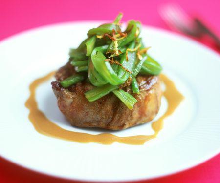 Steak with Scallions