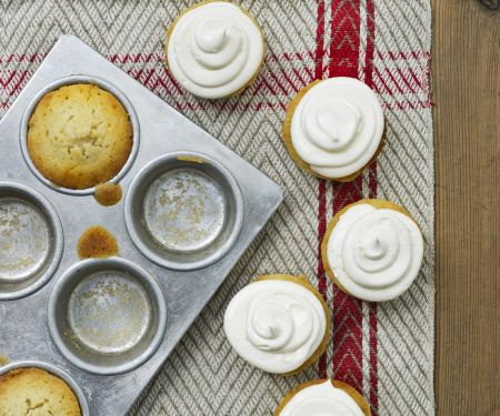 Stem Ginger Muffins with Chantilly Cream