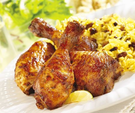 Sticky Chicken Pieces