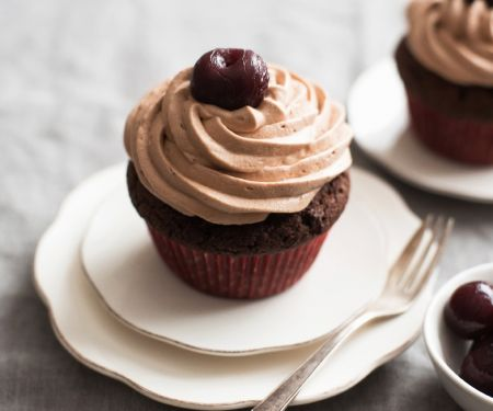 Stone Fruit-topped Cupcakes