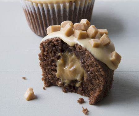 Surprise Centre Caramel Muffins