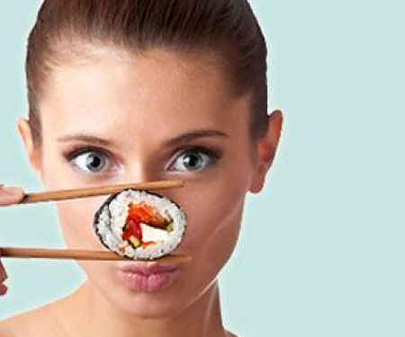 Sushi: low in calories and so healthy