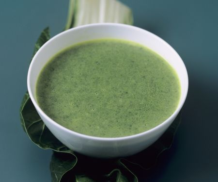Swiss Chard and Coconut Bisque