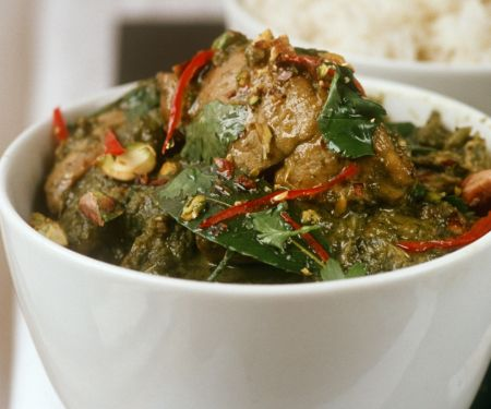 Thai Curried Chicken