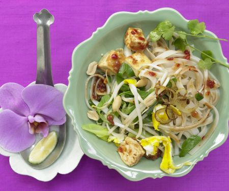 Thai Rice Noodle Stir-Fry