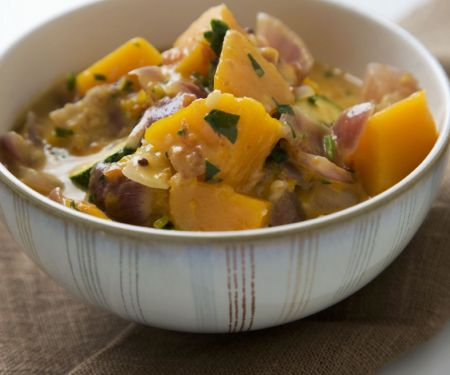 Thai-style Zucchini And Pumpkin Curry