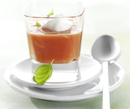 Tomato Soup with Ginger and Cream