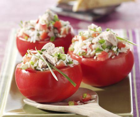 Tomatoes Stuffed with Tuna and Rice