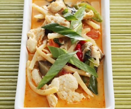 Turkey Red Curry (Thai-style)