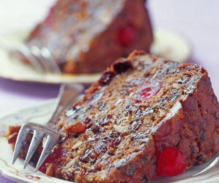 Two Rich Fruit and Nut Cakes
