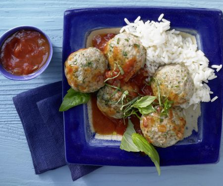 Veal Meatballs with Basil
