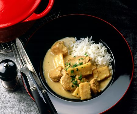Veal Stew with Parsnips