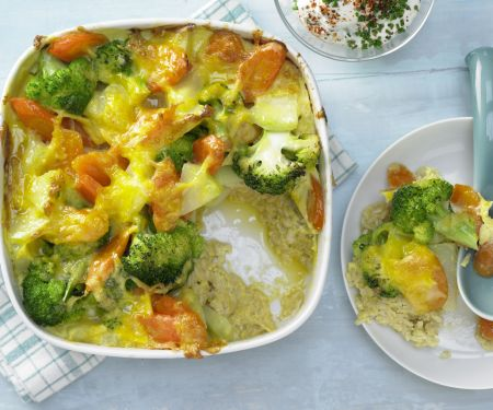 Vegetable and Brown Rice Casserole