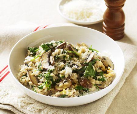 Vegetarian Mushroom Rice