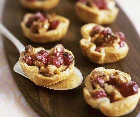 Walnut Cranberry Tartlets