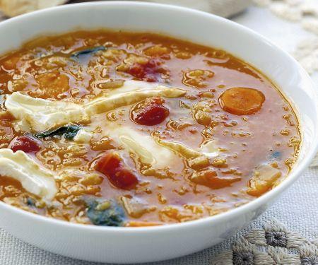 Warm Winter Lentil Soup