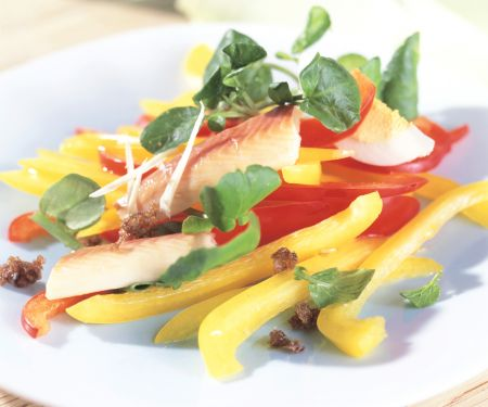 Watercress and Pepper Salad