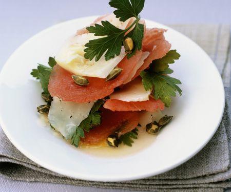 Watermelon with Pecorino