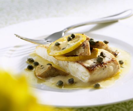 White Fish with Citrus and Capers