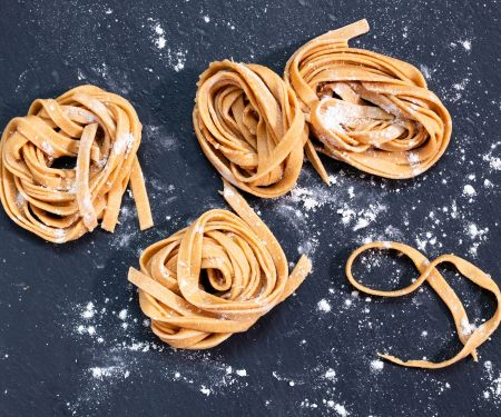 Whole Wheat Tagliatelle