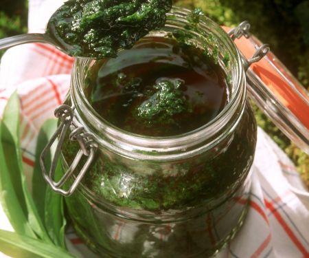 Wild Garlic Pasta Sauce