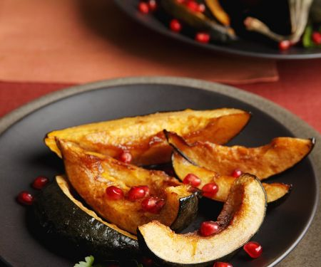 Winter Squash with Fruit Jewels