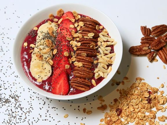 Acai Bowl with Berries