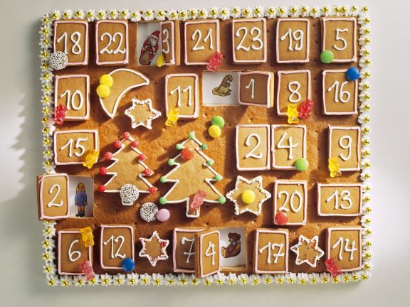 Spice Biscuit Christmas Countdown