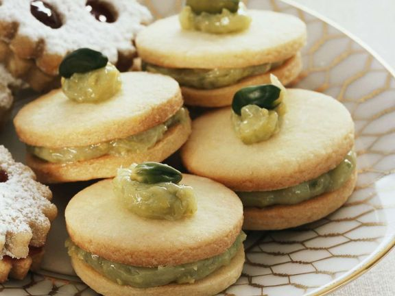 Almond and Pistachio Biscuits