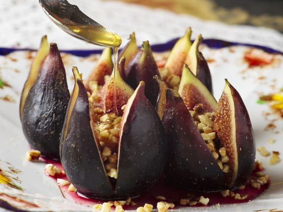 Almond-Honey Filled Figs