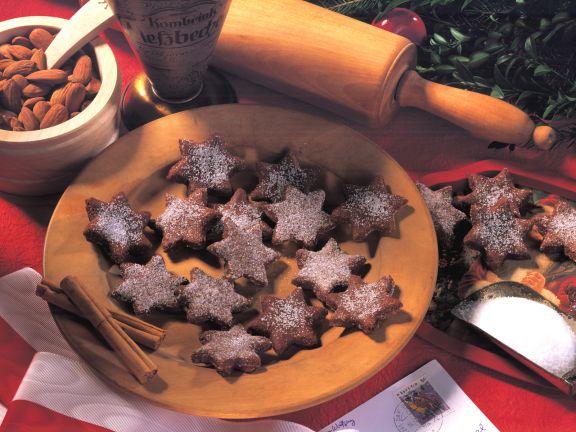 Almond Marzipan Stars