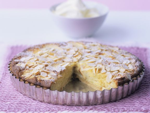 Apple Almond Flan
